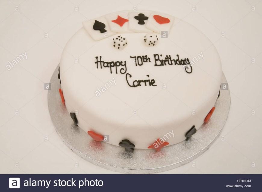 70Th Birthday Cake Ideas 70th Birthday Cake Stock Photos 70th Birthday Cake Stock Images