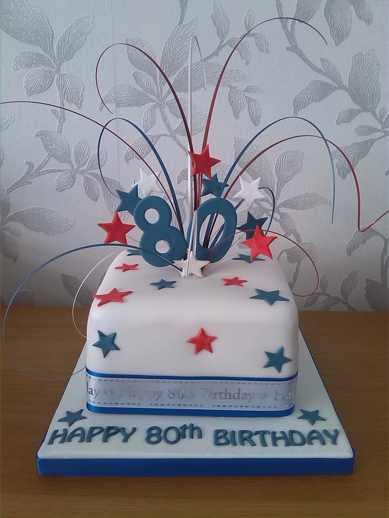 80Th Birthday Cake Ideas 80th For My Dad Who Will Be 80