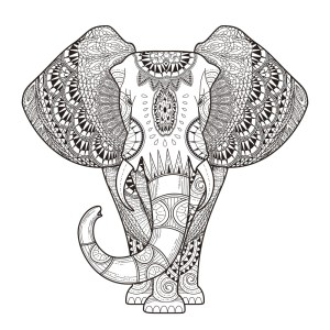 Adult Coloring Pages Mandala Adult Coloring Pages 68 Elephant Coloring Pages For Adults
