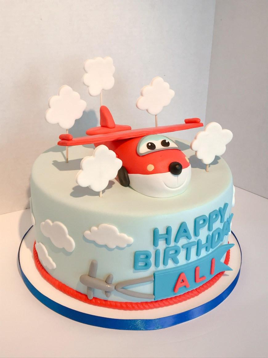 Airplane Birthday Cake Airplane Birthday Cake Cakedecorating