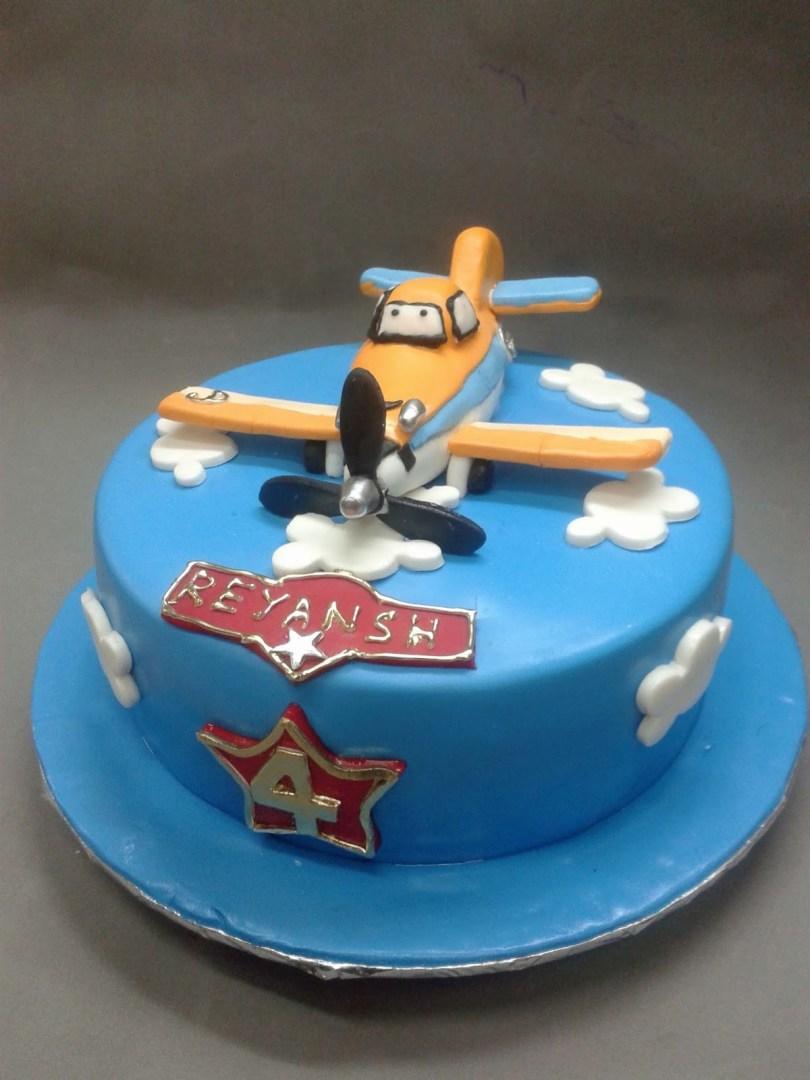 Airplane Birthday Cake Car Train Plane Theme Birthday Cake