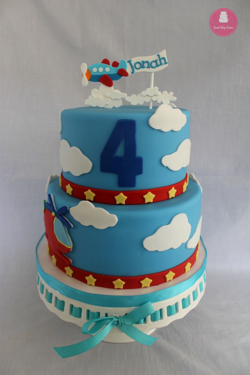 Airplane Birthday Cake Helicopter And Airplane Themed Birthday Cake Crumbs 2nd Birthday
