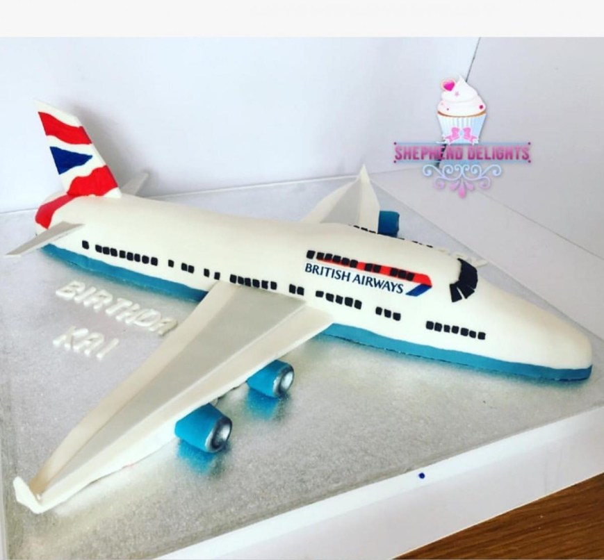Airplane Birthday Cake Plane Birthday Cake British Airways Birthday Cake Teenage Adult