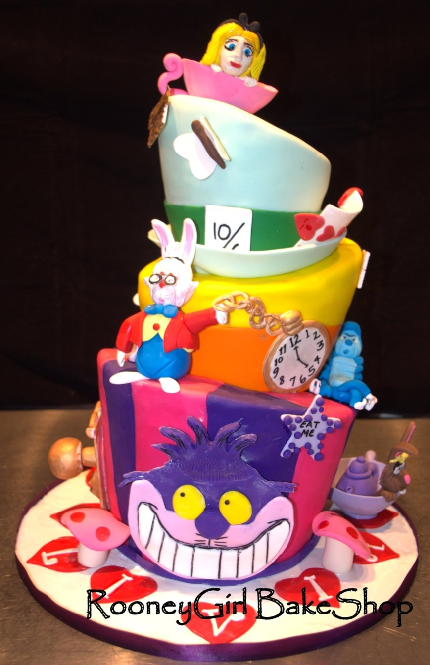 Alice In Wonderland Birthday Cake Alice In Wonderland Birthday Cake Cakecentral