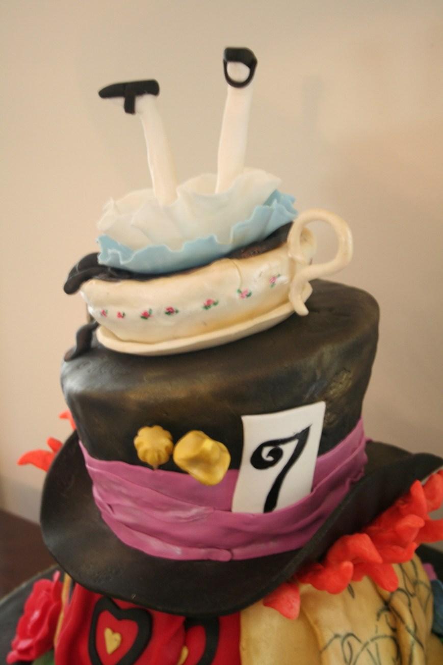 Alice In Wonderland Birthday Cake Alice In Wonderland Birthday Cake Cakecentral