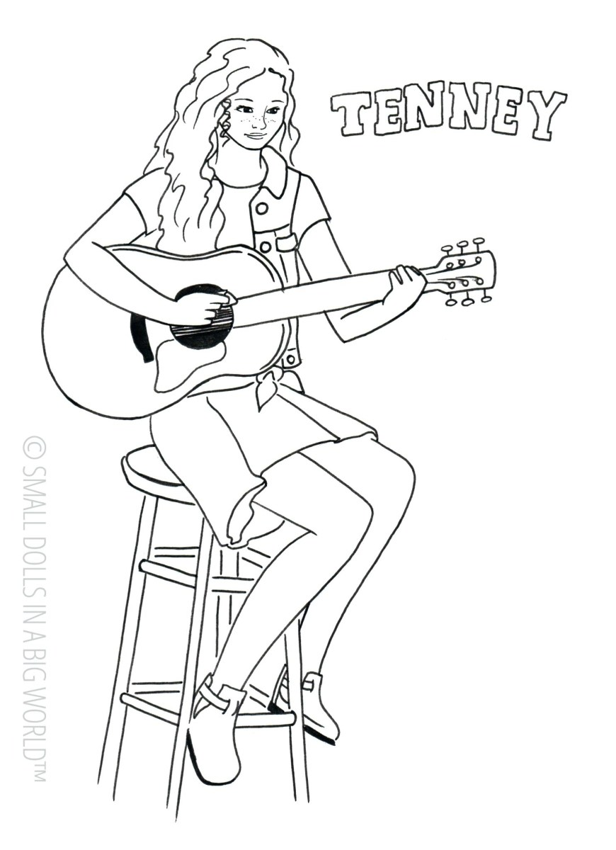 American Girl Doll Coloring Pages American Girl Coloring Pages Doll Rebecca Coloring Pages