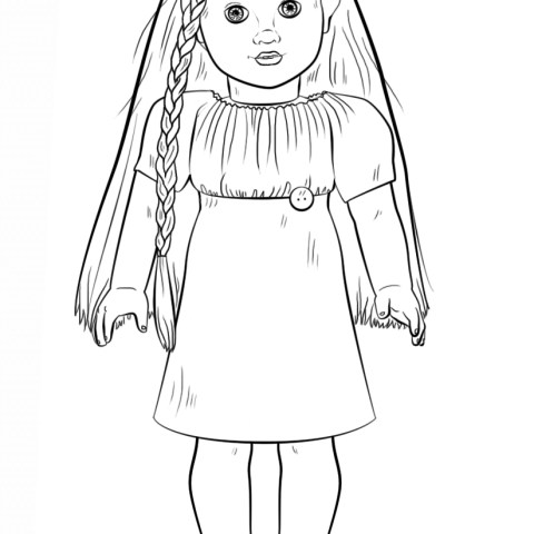 American Girl Doll Coloring Pages American Girl Doll Julie Coloring Page Free Printable Coloring Pages