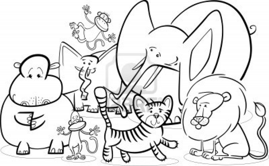 Animals Coloring Pages Awesome Preschool Coloring Pages Animals 82 For With Preschool