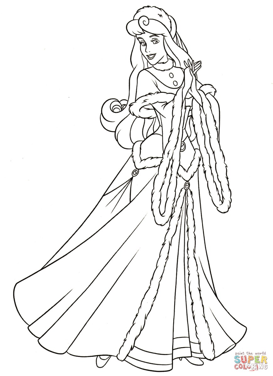 Aurora Coloring Pages Aurora Coloring Page Free Printable Coloring Pages