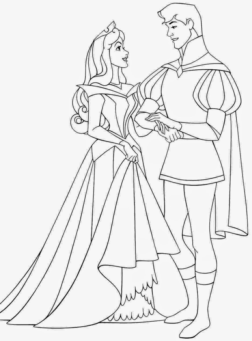 Aurora Coloring Pages Disney Princess Aurora Coloring Pages At Getdrawings Free For