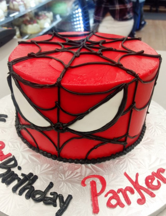 Bakery Birthday Cakes Spiderman Buttercream Birthday Cake Goodies Bakery