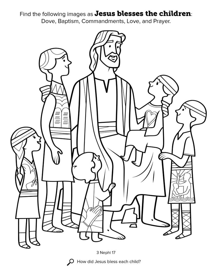 Baptism Coloring Pages Jesus Baptism Coloring Page Lds Free Coloring Pages New Baptism Of