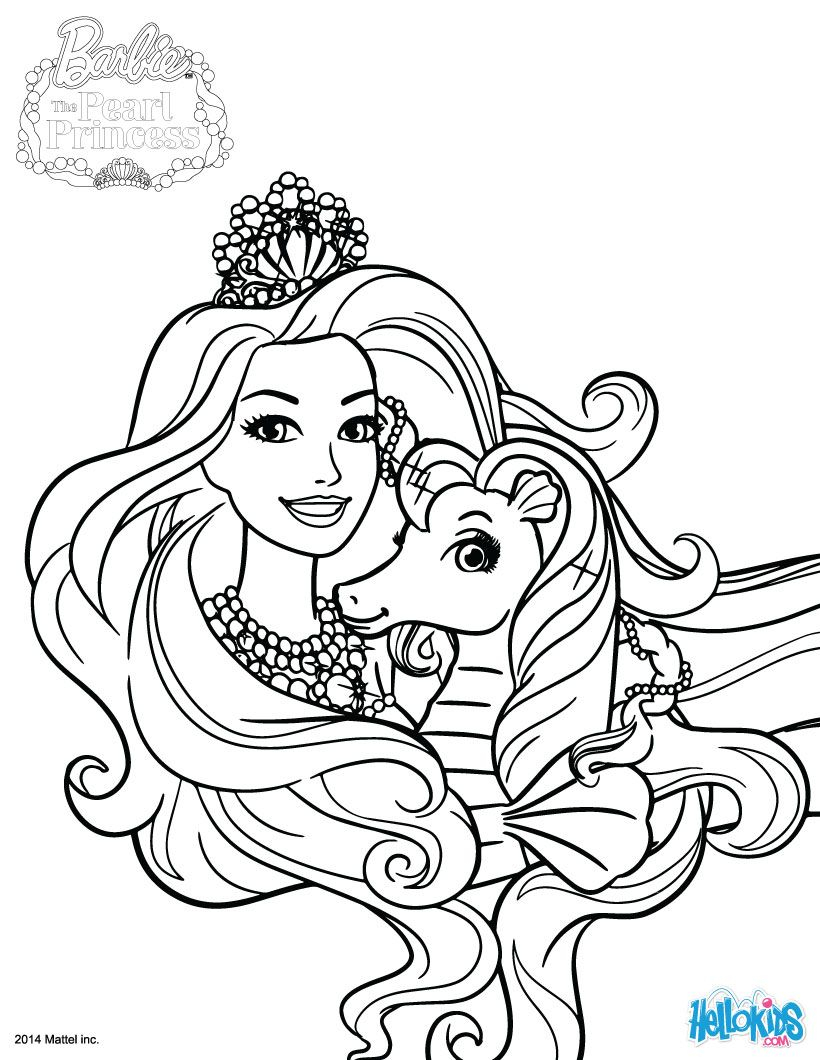 Barbie princess coloring pages barbie princess coloring pages coloring pages for children