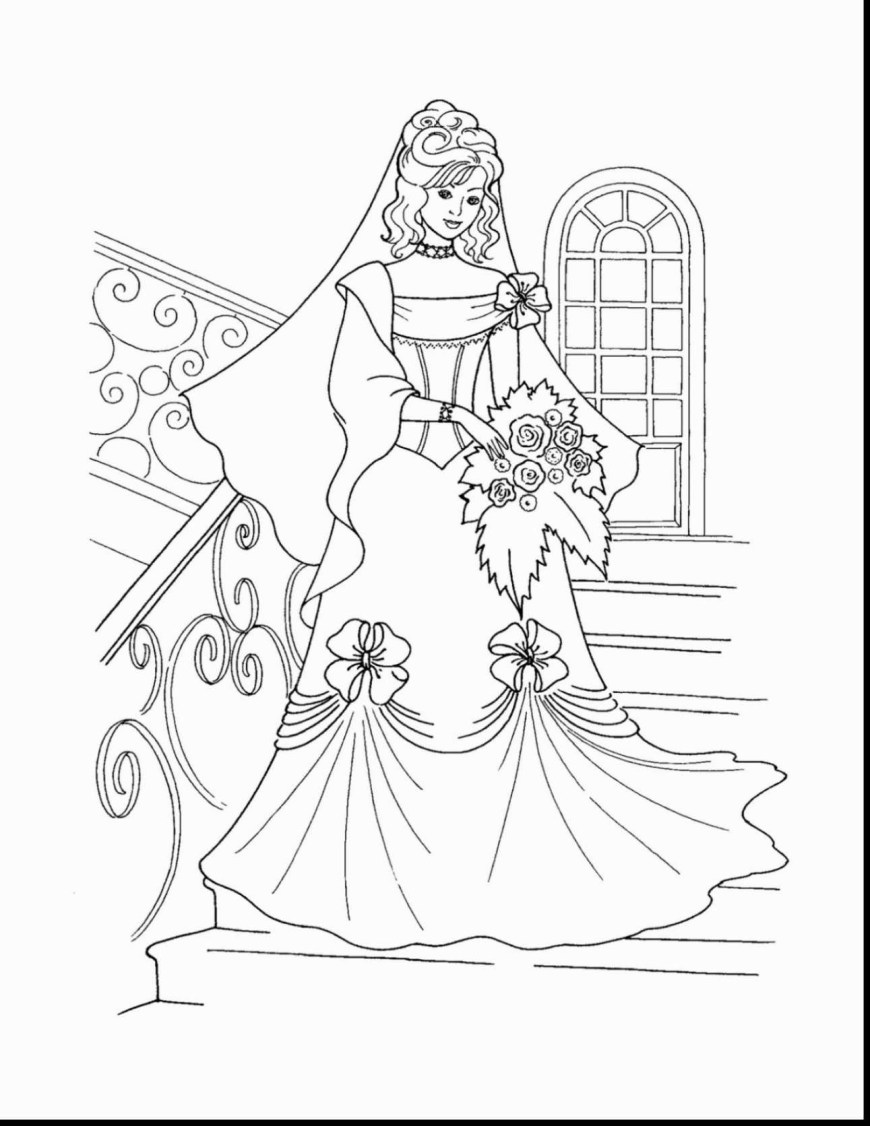 Barbie Princess Coloring Pages Coloriage Barbie Princesse Lgant Free Printable Barbie Princess
