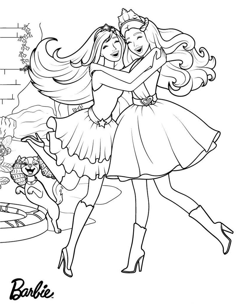 Barbie Princess Coloring Pages Coloring Pages Ken Coloring Pages Free Printable Barbie Princess
