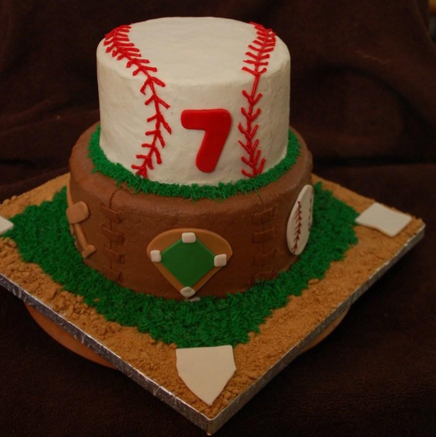Baseball Birthday Cake Baseball Birthday Cake Cakecentral