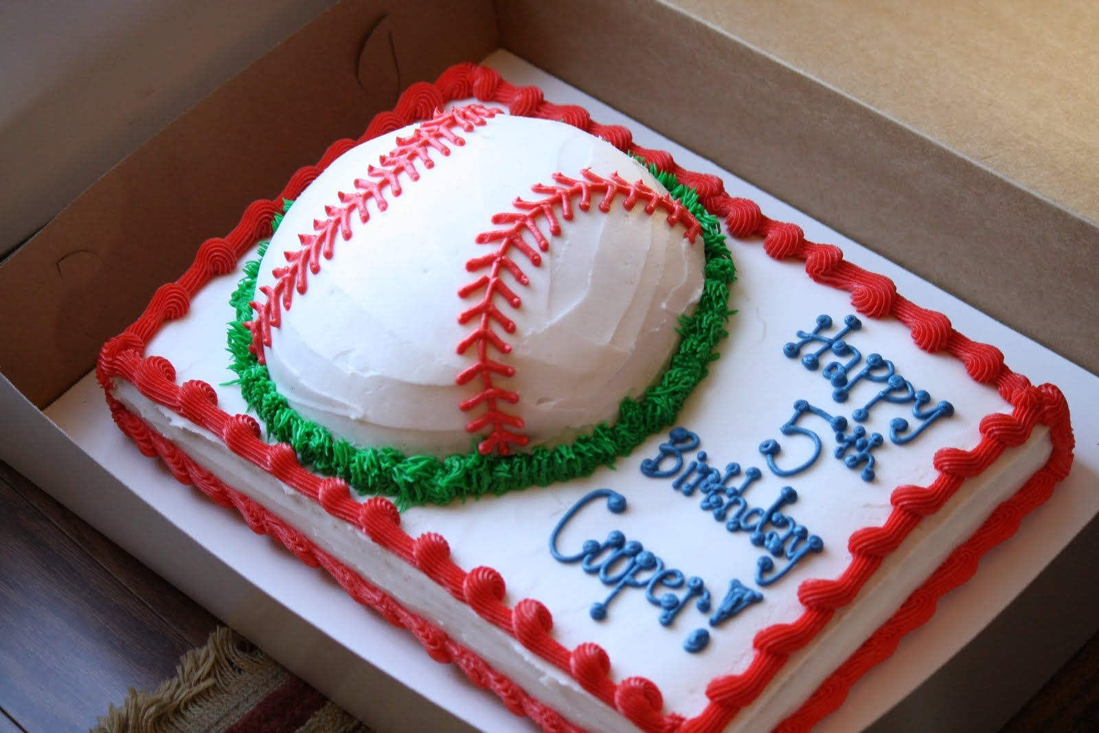 30 Beautiful Photo Of Baseball Birthday Cake