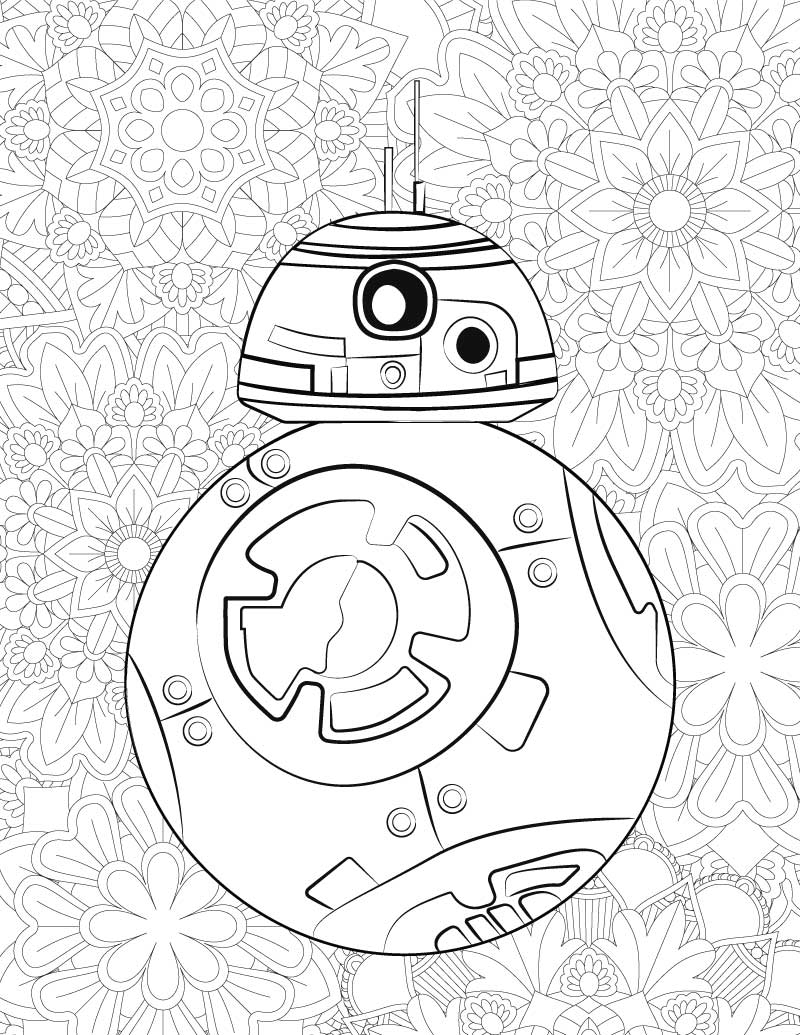 Bb8 Coloring Page Free Star Wars Printable Coloring Pages Bb 8 C2 B5