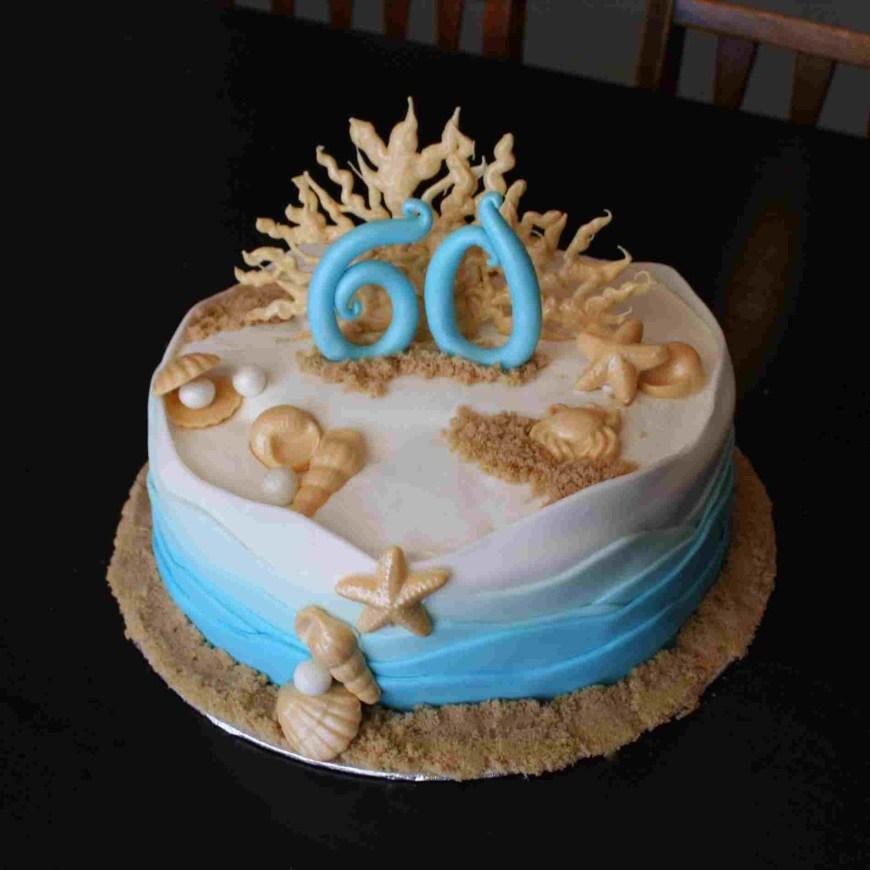 Beach Birthday Cakes Decorating Rhpinterestcom Simple Beach Birthday Cakes Www