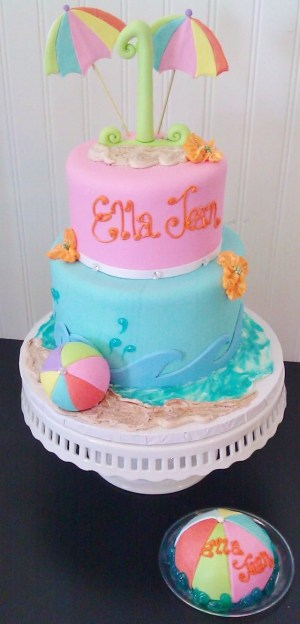 Beach Birthday Cakes Fresno Wedding Cakes Cupcakes Cake Pops Birthday Cakes Beach