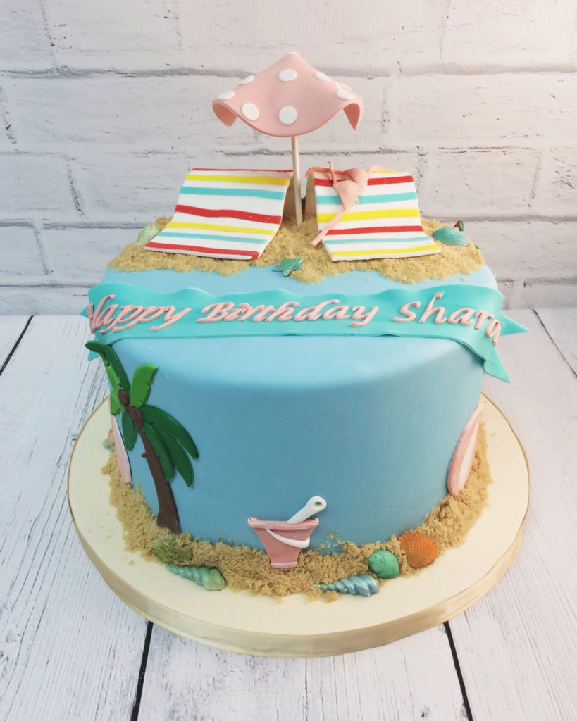 Beach Birthday Cakes Nashville Sweets Beach Birthday Cake