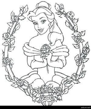 Belle Coloring Pages Coloring Pages Belle Coloring Pages Belle Princess Coloring Pages