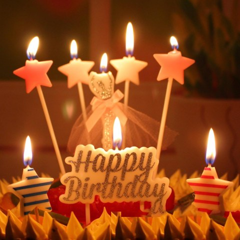 Birthday Cake Candles 2019 6 Design Birthday Cake Candles Safe Flames Party Festivals Home