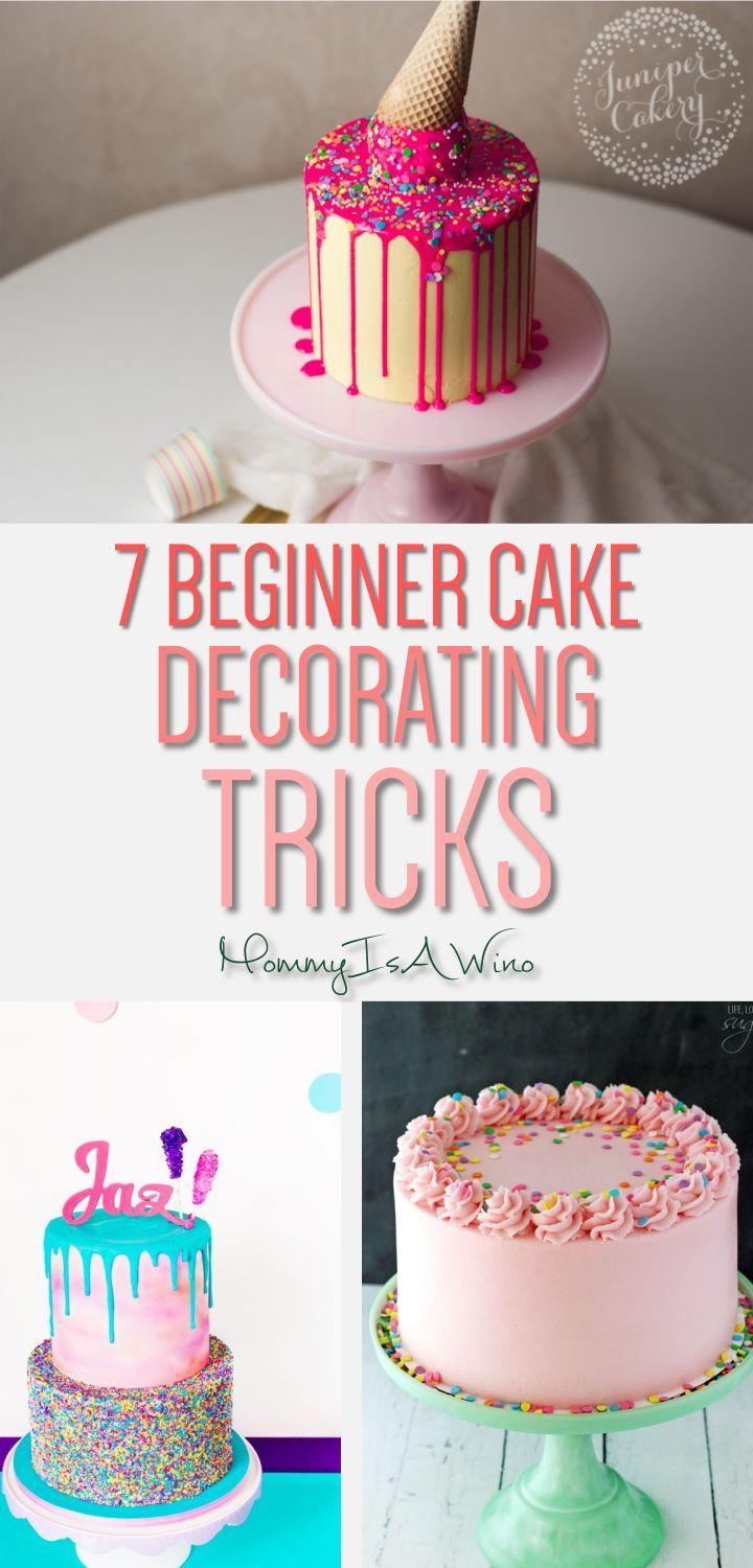 Birthday Cake Decorating Ideas 7 Easy Cake Decorating Trends For Beginners Decorating Tutorials
