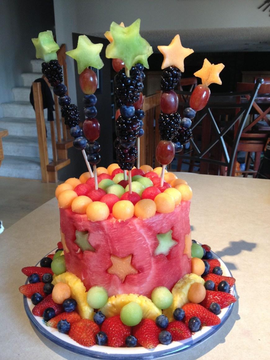 Birthday Cake Dip Fresh Fruit Cake So Yummy Make A Dip With Cool Whip 1 Pkg
