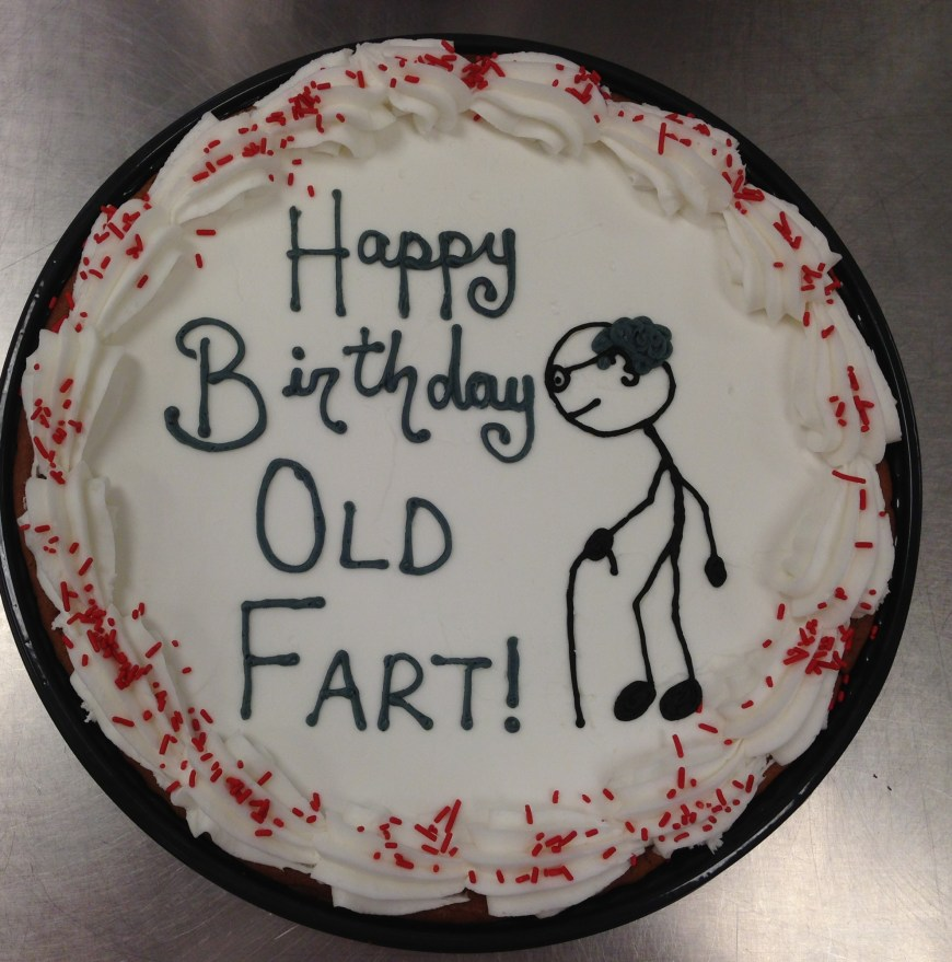 Birthday Cake Farts 6 Old Fart Cupcakes Photo Skunk Cupcakes Old Fart Birthday Cake