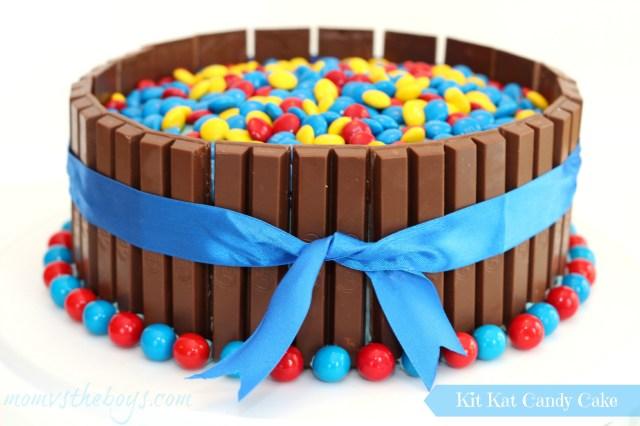 Birthday Cake For Boy Birthday Kit Kat Cake For Boys Mom Vs The Boys