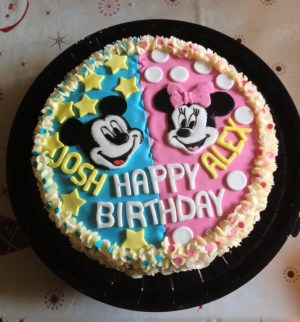 Birthday Cake For Sister Cute Brother Sisters Birthday Cake Twins Sister Birthday Cake