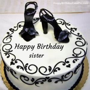 Birthday Cake For Sister Elegant Images Of Happy Birthday Cake Sister Write Name On Happy For