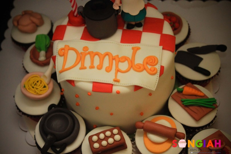 Birthday Cake Images With Name Songiah Dimples Birthday Cake