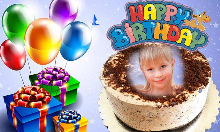 Birthday Cake Photo Frame Name Photo On Birthday Cake Candy Frame Filter For Android Apk