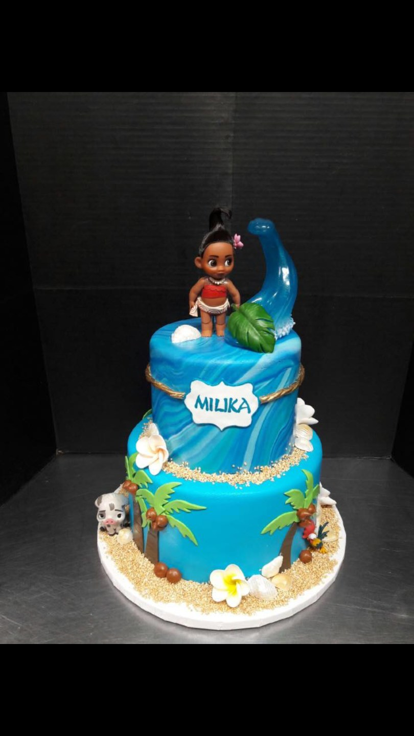 Birthday Cake Themes Disney Moana Birthday Cake Disneyprincess Moana Birthday Cake