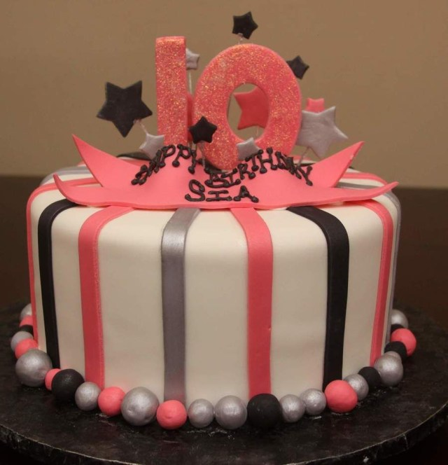 Birthday Cakes For 10 Year Olds Years Old Girl Yahoo Search Results