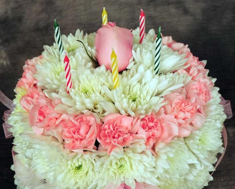 Birthday Cakes With Flowers Floral Birthday Cake Kremp