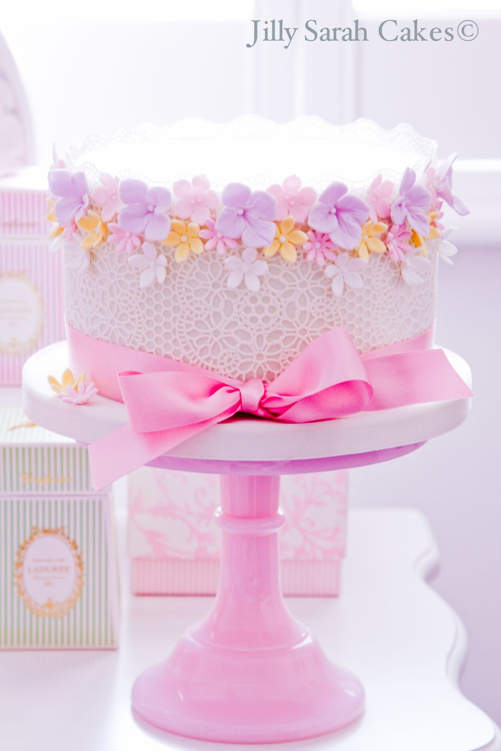 Birthday Cakes With Flowers Girls Google Search Cake Stuff