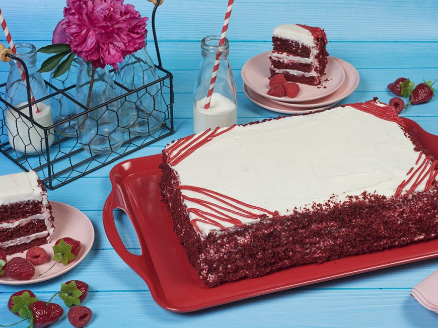 Birthday Sheet Cakes Bake Me A Wish Colossal Red Velvet Happy Birthday Sheet Cake Delivery