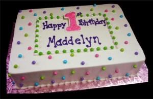 Birthday Sheet Cakes Birthday Cakes Sugar Showcase