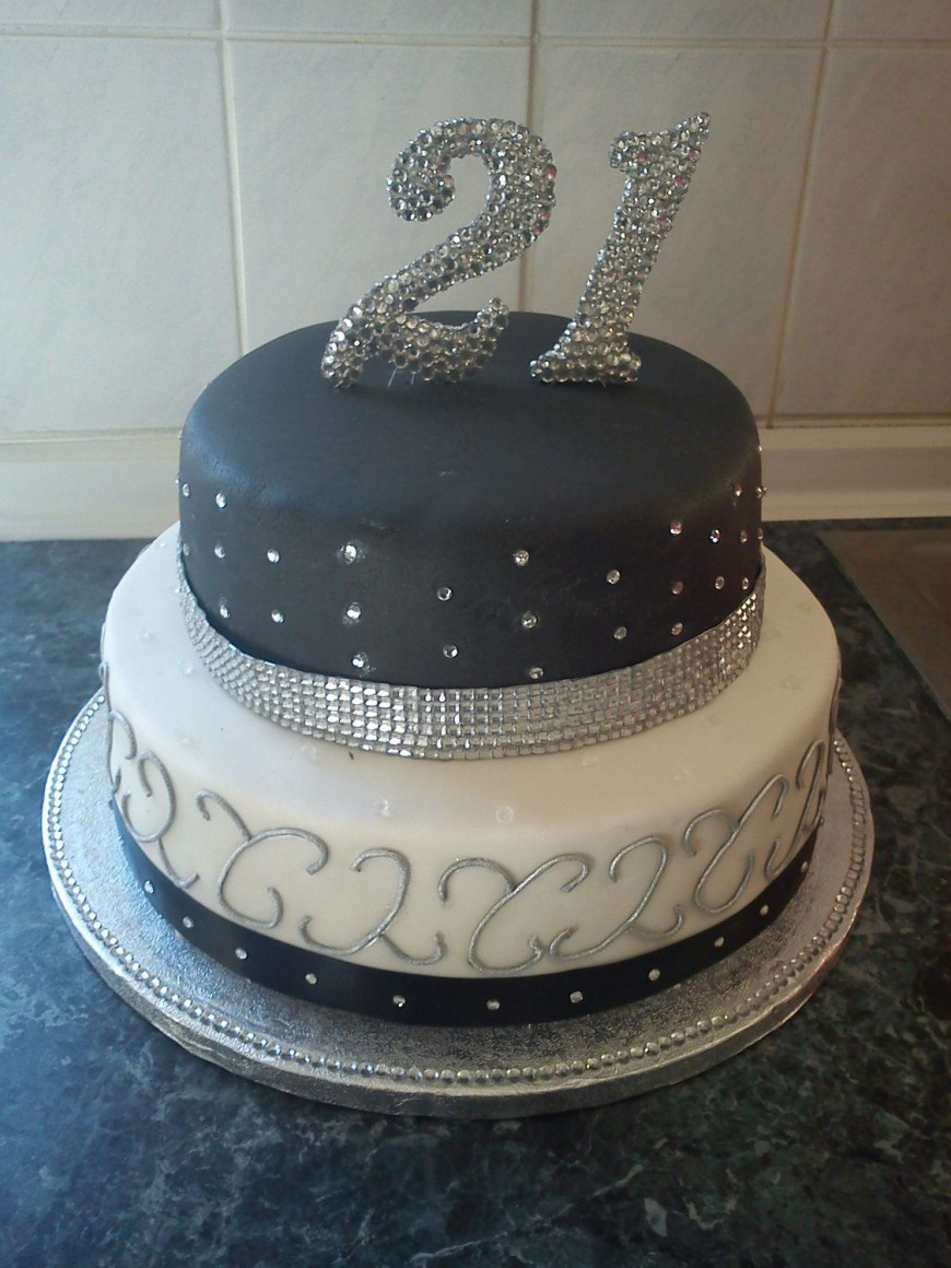 Bling Birthday Cakes Crystal Bling Diamante 18th 21st Any Numbers Or Letters Any Colour