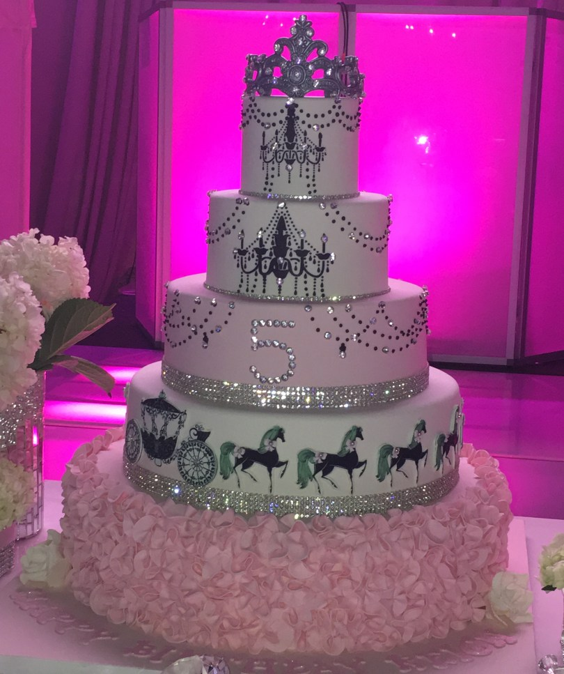 Bling Birthday Cakes Princess Bling Cake Palermos Custom Cakes Bakery