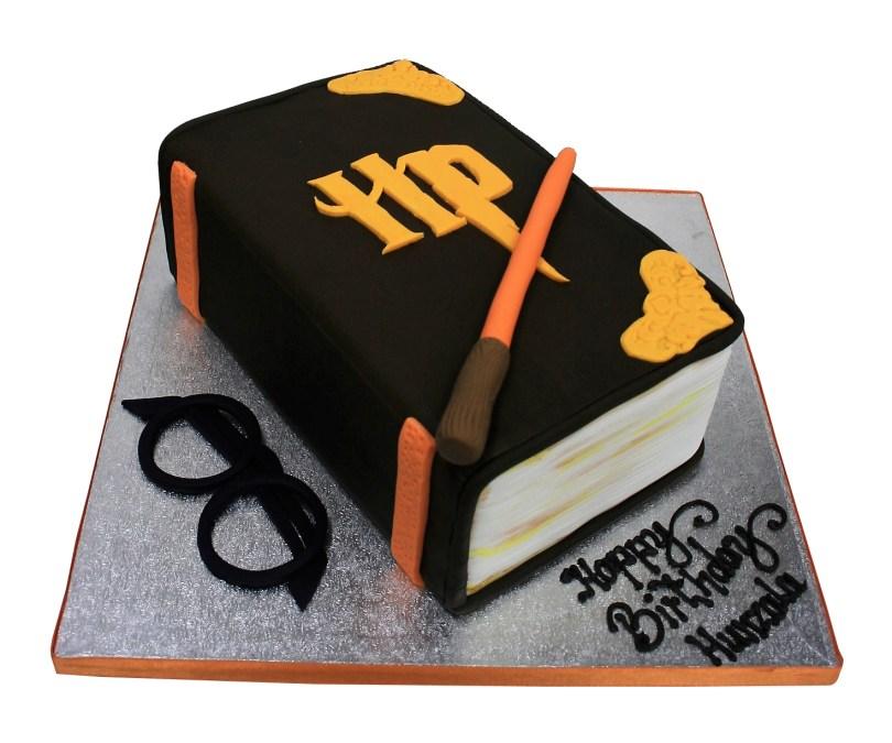 Book Birthday Cake Harry Potter Themed Book Cake