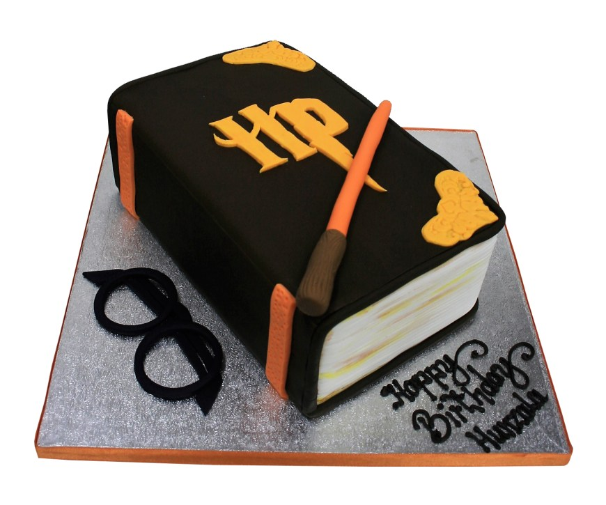 Book Birthday Cake Harry Potter Themed Book Cake