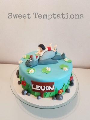Book Birthday Cake Jungle Book Birthday Cake For A Little Balu Fan For 3th Birthday