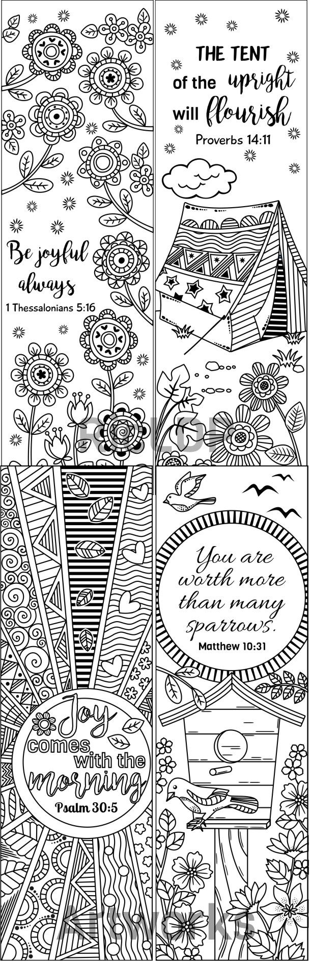 Bookmark Coloring Pages Bookmarks Coloring Pages Fun Time