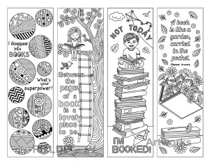 Bookmark Coloring Pages Feathers Coloring Page Bookmarks This Is A Printable Pdf Best Of