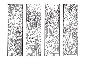 Bookmark Coloring Pages Free Printable Bookmarks For Adults To Color Free Coloring Pages For