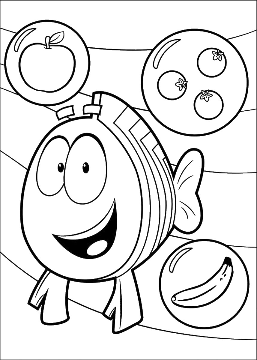 Bubble Guppies Coloring Pages Bubble Guppies Coloring Pages